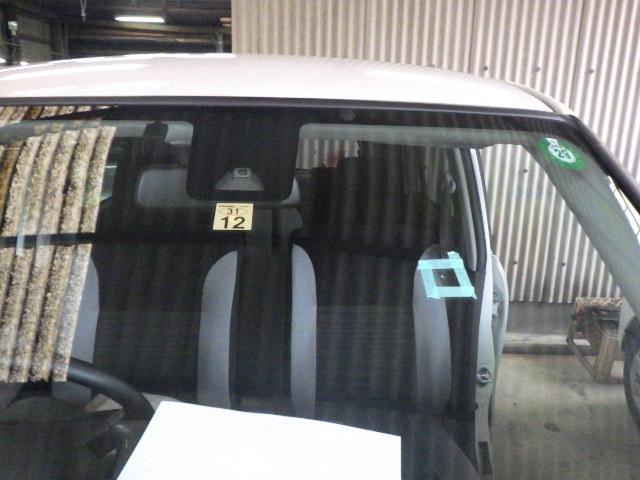ダイハツ キャストアクティバのフロントガラス交換を交換しました。