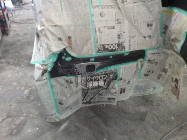 ダイハツ ムーヴの後部をリサイクル部品で修理しました。