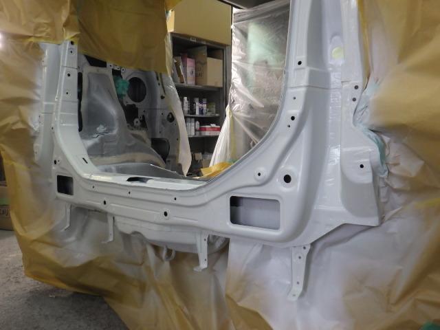 鹿児島市 タントの大破車の修理をしました。