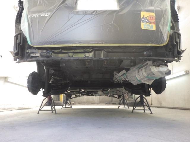 ホンダフリードの車体防錆処理をしました。